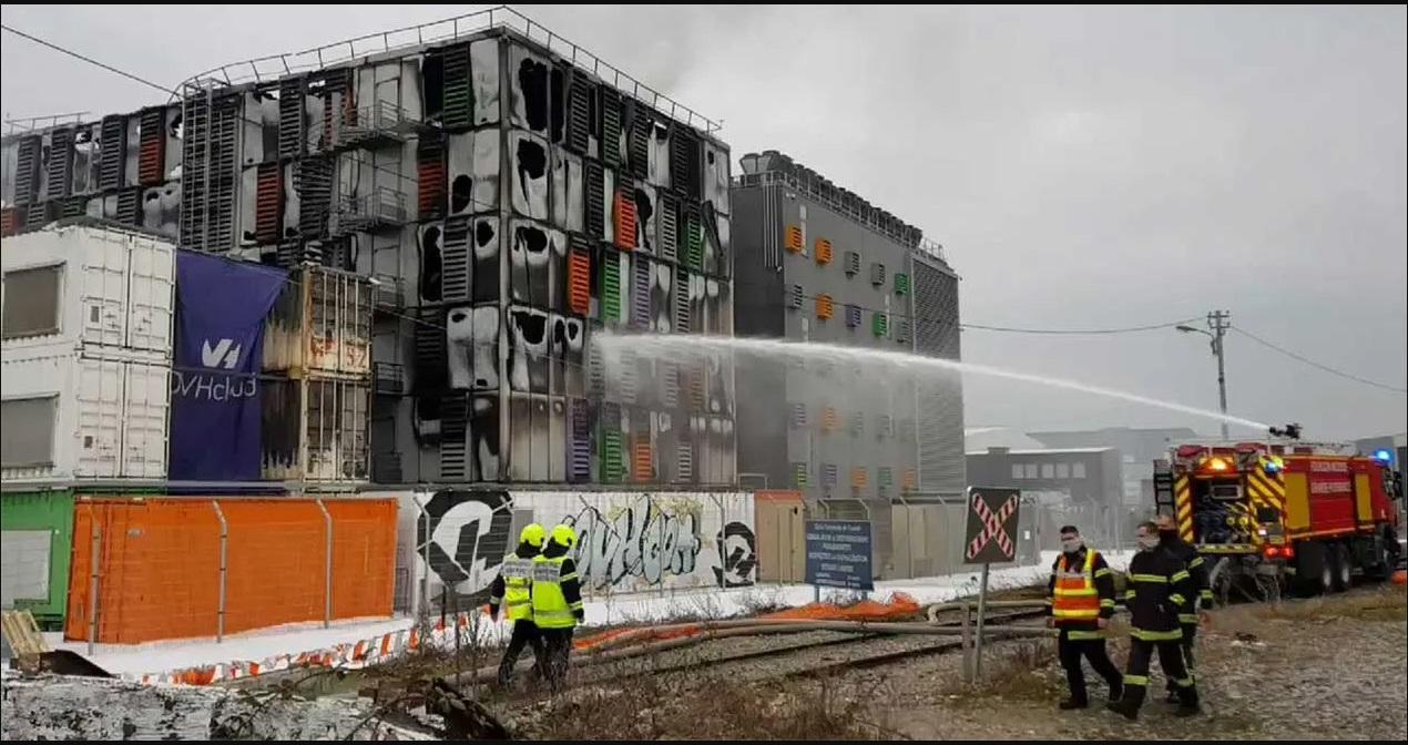 Arde un edificio de OVH, el mayor servicio de alojamiento de Europa